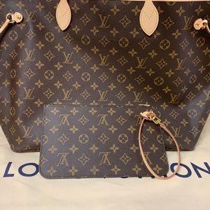 Louis Vuitton Mono Pochette 🧡 Neverfull GM model